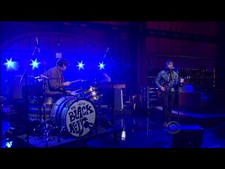 The Black Keys - Gold on the Ceiling (Live at Late Show with David Letterman, 07.12.2011)